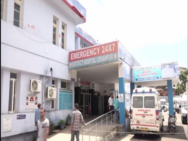 Udhampur district hospital in Jammu and Kashmir