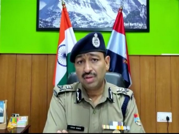 Ashok Kumar, Uttarakhand DG (Law and Order) (Photo/ANI)