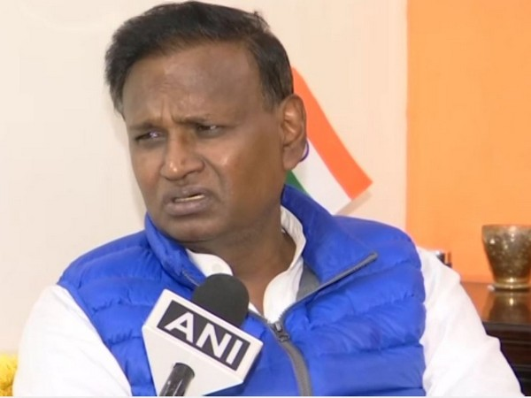 Congress leader Udit Raj speaking to ANI in New Delhi on Wednesday. Photo/ANI