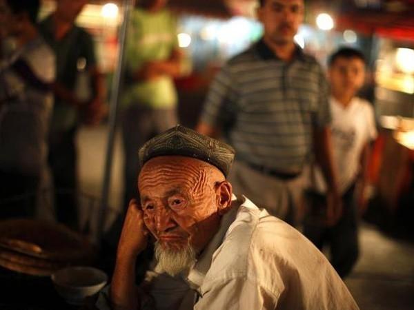 An Uighur man in Xinjiang province