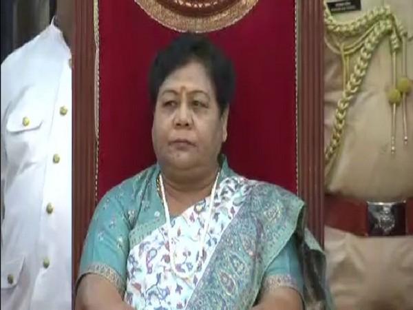 Anusuiya Uikey assumed charge as Governor of Chhattisgarh on Monday. Photo/ANI