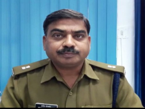 Promod Sonkar, Additional Superintendent of Police speaking to ANI on Monday. Photo/ANI