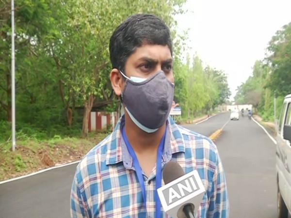 Deputy Director of India Meteorological Department in Bhubaneswar Umashankar Das. (Photo/ ANI)