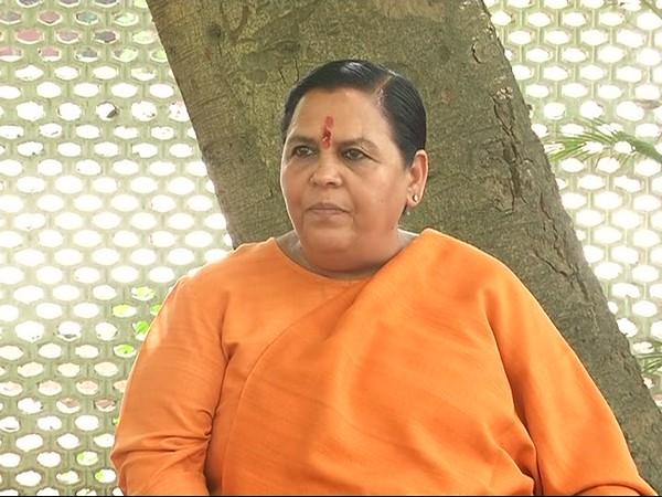 Union Minister Uma Bharti (file photo)