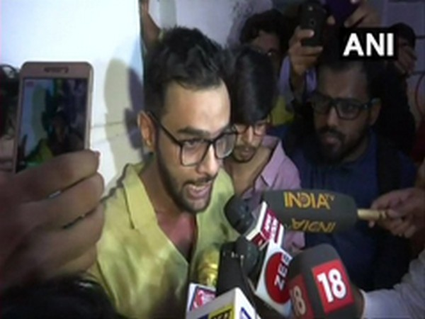 Former JNU student Umar Khalid (file photo)