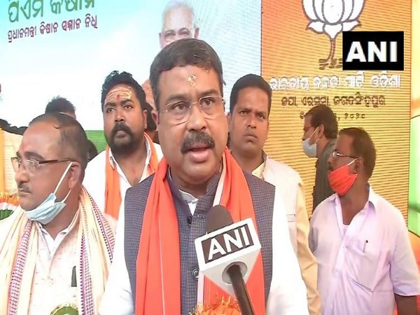 Union Minister of Petroleum and Natural Gas, Dharmendra Pradhan (Photo ANI)