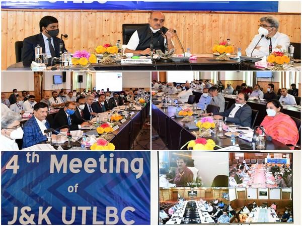 MoS Finance Dr Bhagwat Kishanrao Karad chairs 4th Meeting of J-K UTLBC. (Photo/ ANI)