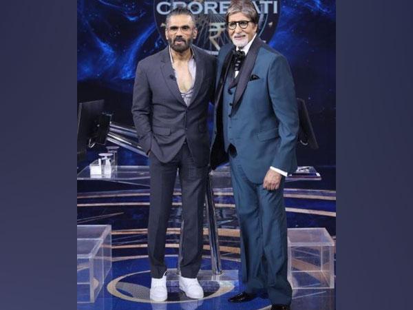 Suneil Shetty, Amitabh Bachchan (Image source: Instagram)