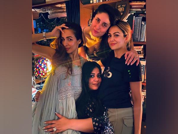 Malaika Arora, Kareena Kapoor Khan, Mallika Bhat, Amrita Arora (Image courtesy: Instagram)
