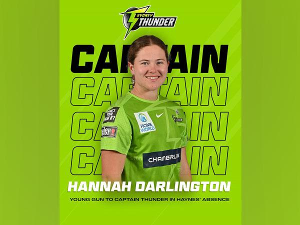 Hannah Darlington  (Image: WBBL Twitter)