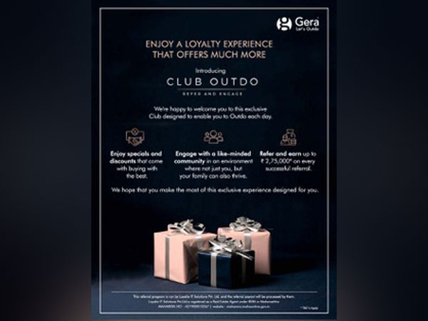 Gera 'Club Outdo', a novel customer-centric loyalty program to further develop long-term relationships with its customers by driving exclusive experiences
