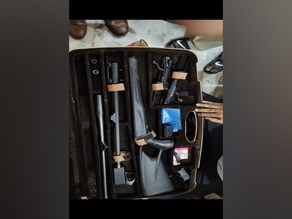 UP Police seizes weapons from Mukhtar Ansari's son in Delhi