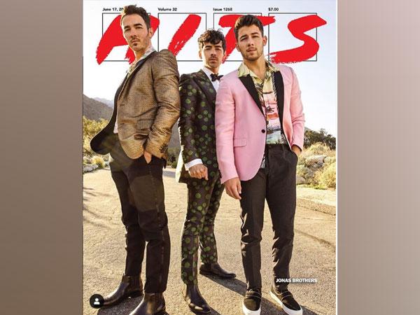Kevin Jonas, Joe Jonas and Nick Jonas, Image courtesy, Instagram
