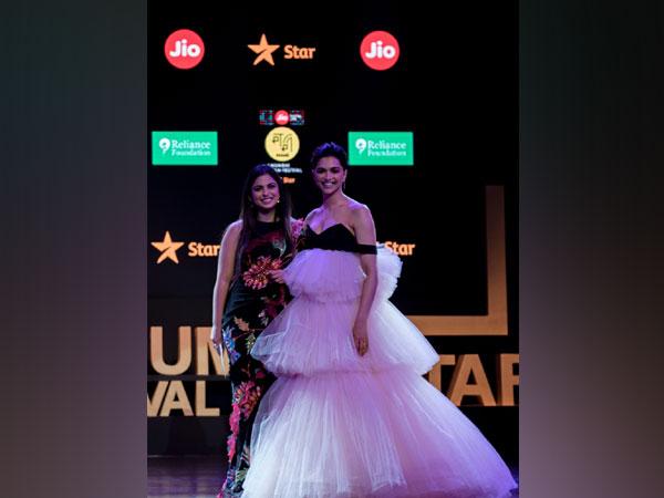 Deepika Padukone and Isha Ambani at the Jio MAMI Mumbai Film Festival