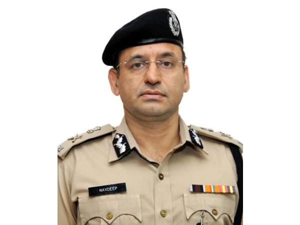 Navdeep Singh Virk, Additional Director General of Police, Law and Order, Haryana.