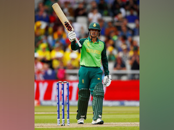 South Africa skipper Quinton de Kock