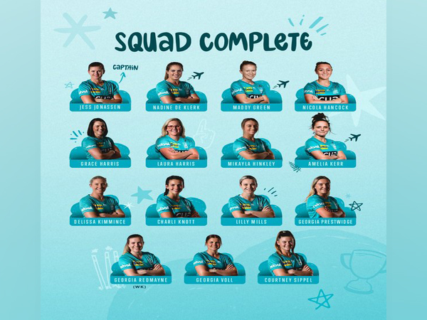 Brisbane Heat squad for WWBL (Photo/ Brisbane Heat Twitter)