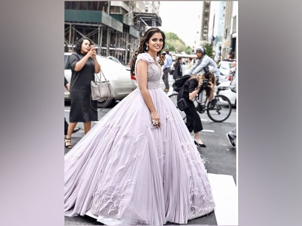 Isha Ambani at Met Gala 2019, Image courtesy: Instagram