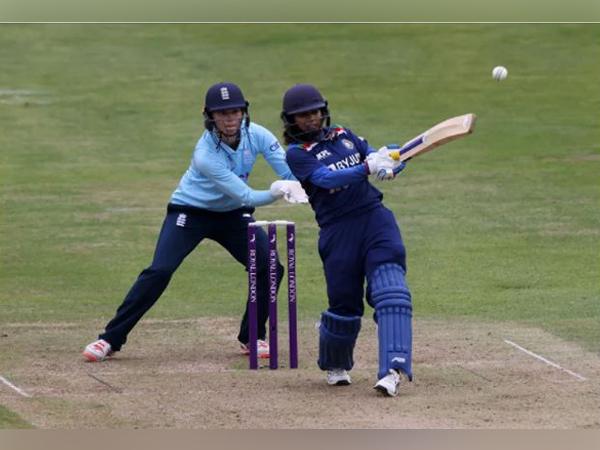 Mithali Raj in action against England (Photo/ ICC)