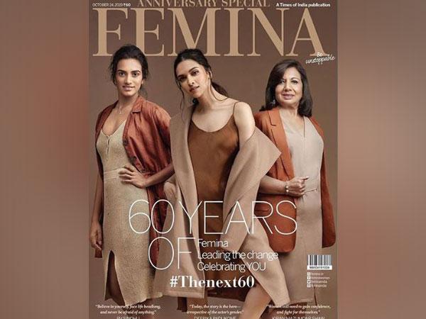 PV Sindhu, Deepika Padukone and Kiran Mazumdar Shaw on Femina cover