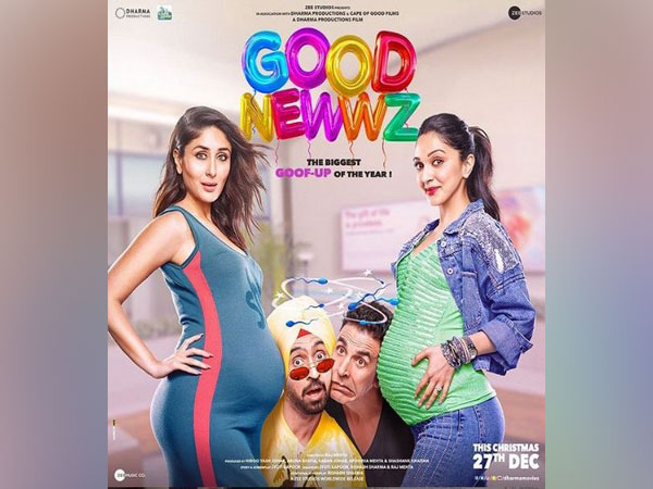Poster of the film 'Good Newwz' (Image courtesy: Instagram)