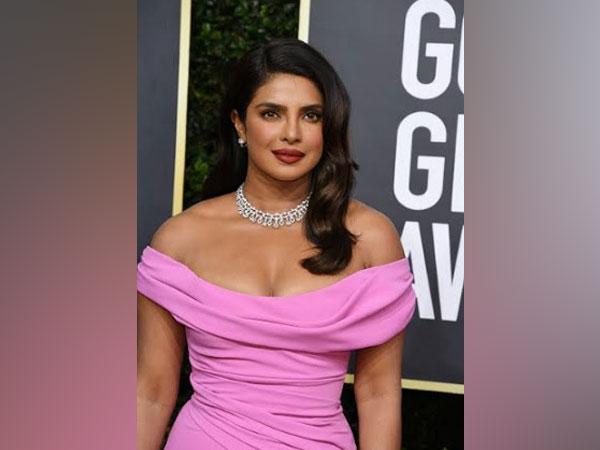 Priyanka Chopra in Platinum Jewellery