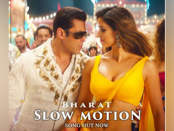 Salman Khan and Disha Patani in 'Slow Motion' poster, Image courtesy: Instagram