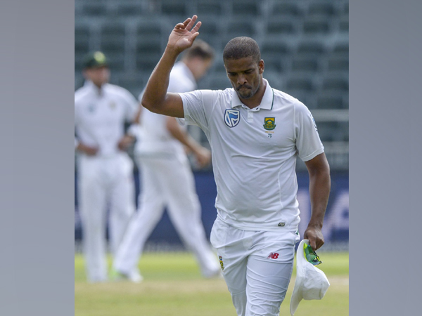 South Africa all-rounder Vernon Philander (Photo/Cricket South Africa Twitter)