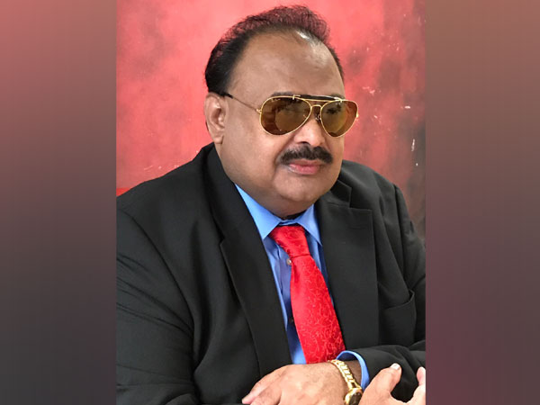 Founder of Muttahida Qaumi Movement (MQM) Altaf Hussain