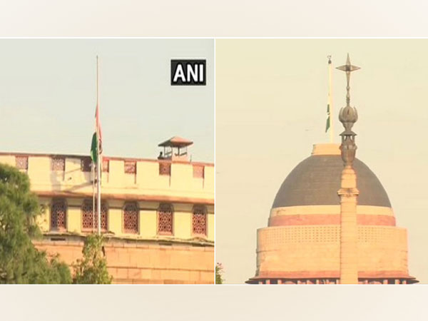 Visual from Parliament and Rashtrapati Bhavan in New Delhi.