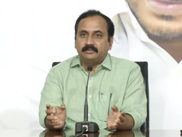 YSR Congress Party (YSRCP) MLA Alla Ramakrishna Reddy (File photo)