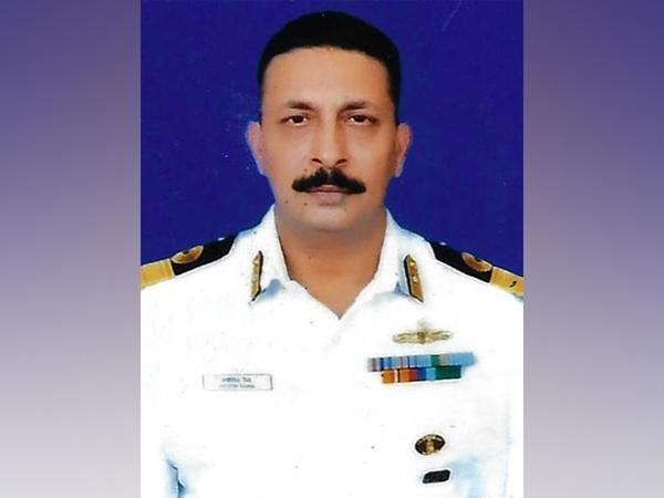 Commodore Jyotin Raina (File photo/ANI)