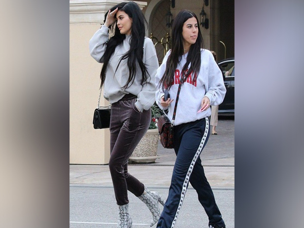 Kylie Jenner with her ex-assistant Victoria Villarroel