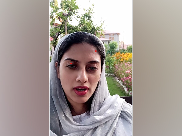 Yana Mir, the editor-in-chief of The Real Kashmir News (File pic)