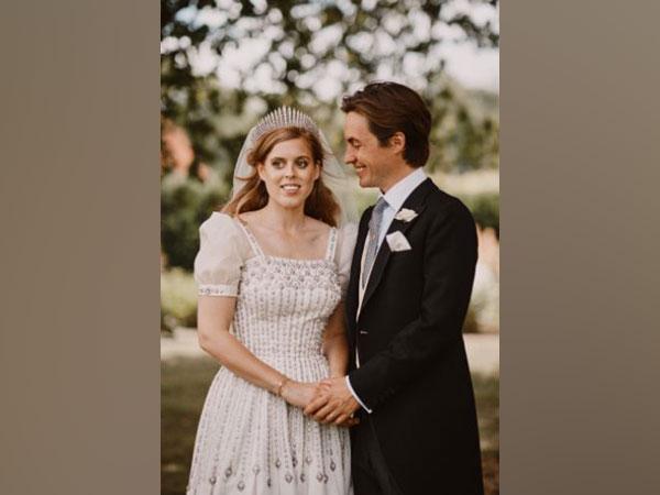 Princess Beatrice and Edoardo Mapelli Mozzi (Image source: Twitter)
