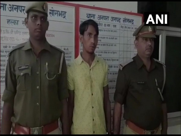 A man has been arrested for raping a 70-year-old woman in Anpara police station limits on 1st December.