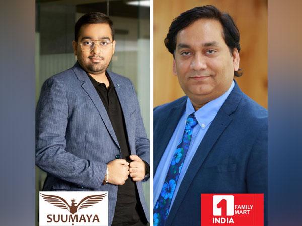 Ushik Gala, Chairman & Managing Director of Suumaya Industries Limited and Jay Prakash Shukla, Co-Founder & CEO, 1-India Family Mart enters into strategic alliance to reimagine retail partnership