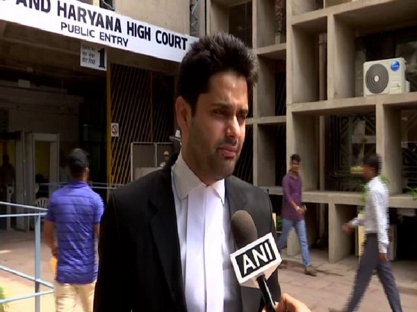 Utsav Bains, lawyer for the Kathua victim's family speaking to ANI in Chandigarh on Wednesday. Photo/ANI