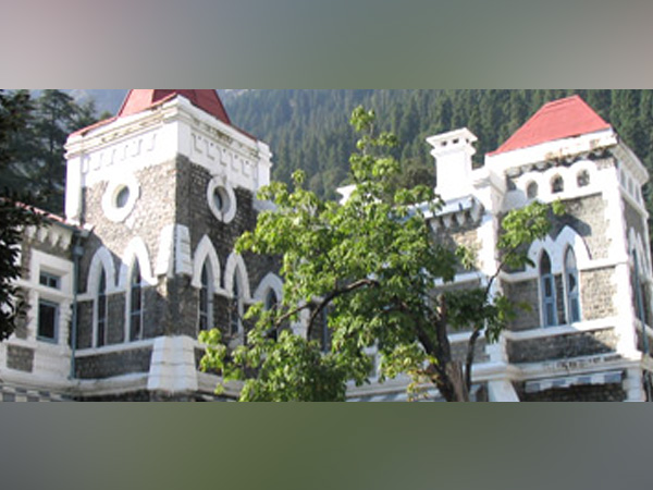A view of Uttarakhand High Court in Nainital (File photo)