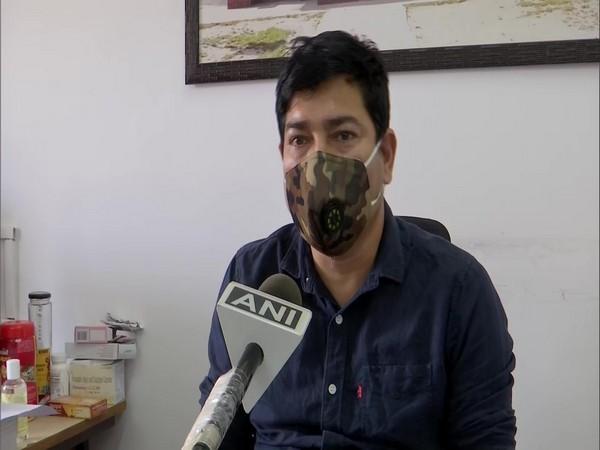Uttarakhand Drug Controller, Tajbar Singh speaking to ANI on Monday. Photo/ANI