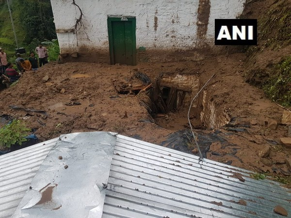 Four injured and several feared trapped, after a house collapsed in Almora's Jhajjar village