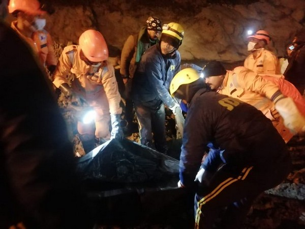 Two bodies have been recovered from the from Tapovan tunnel where rescue operation was going on since February 7. (Photo Credit: U'khand DGP Ashok Kumar's Twitter a/c)