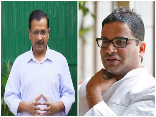 Delhi Chief Minister Arvind Kejriwal and Prashant Kishor (File photo)