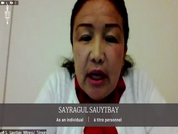 Saygagul Sauytbay, another Uyghur witness