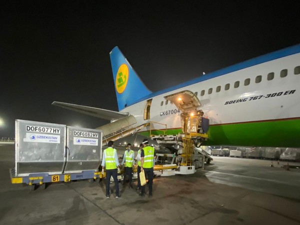 Uzbekistan sends 100 oxygen concentrators to India to fight against COVID-19 crisis (Twitter/Arindam Bagchi)