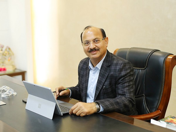 V K Sharma, the Chairman & Managing Director of Aster Institutions