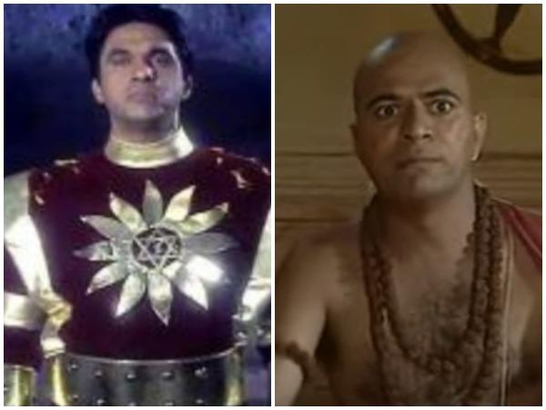 Still from Shaktimaan, Chanakya (Image courtesy: YouTube)