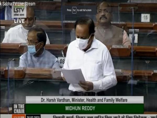 Union Health Minister, Dr. Harsh Vardhan (Photo/ANI)