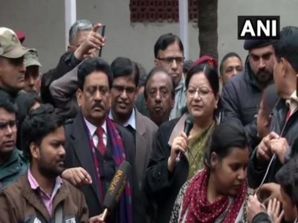 Jamia Millia Islamia Vice Chancellor Najma Akhtar. Photo/ANI