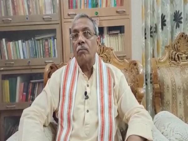 Surendra Jain speaking to ANI in New Delhi on Wednesday. [Photo/ANI]